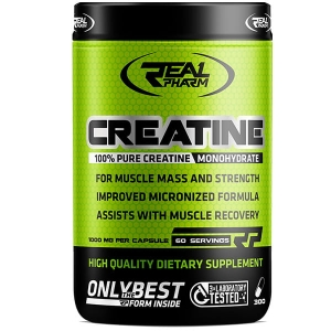 Real Pharm Creatine Monohydrate 300caps.